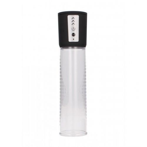 Shots Pumped Premium Rechargeable Automatic Pump Transparent