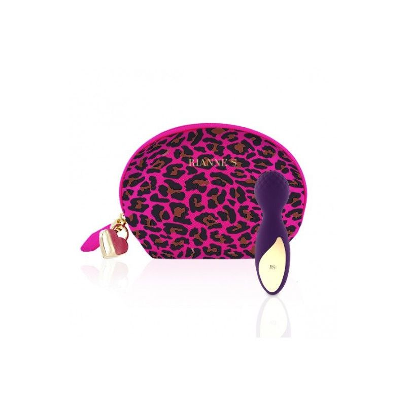 Rianne S Essentials Lovely Leopard Mini Deep Purple