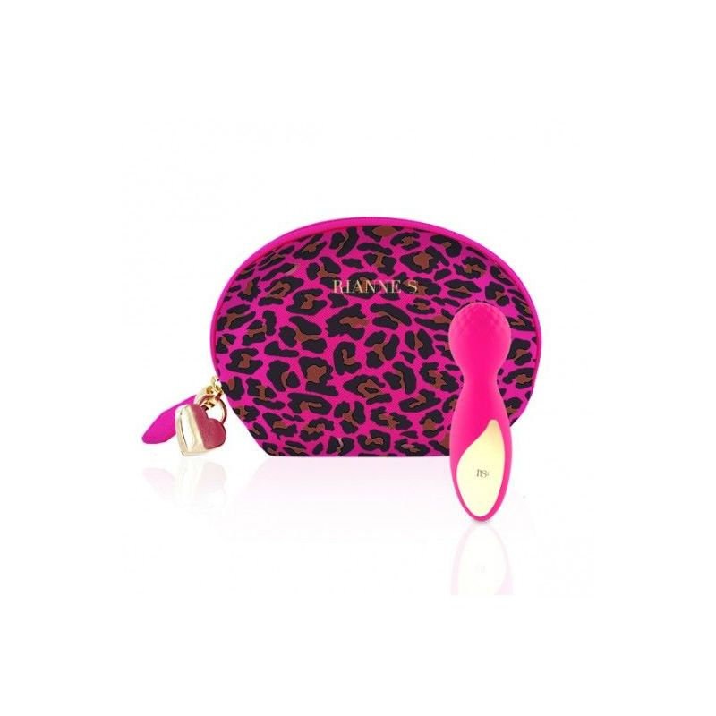 Rianne S Essentials Lovely Leopard Mini Pink