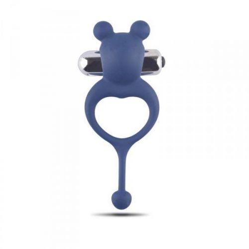 Pierścień-Anello fallico vibrante Bear Cock Ring