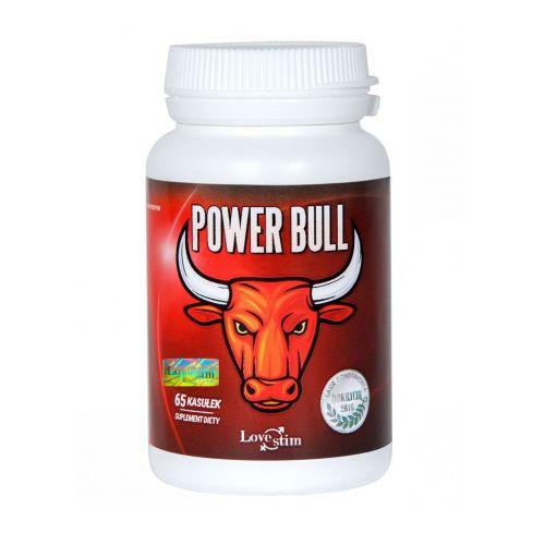 Supl.diety-Power Bull 65kaps suplement na testosteron i erekcję