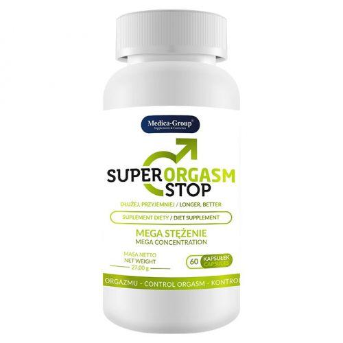 Supl.diety-Super Orgasm Stop - 60 caps