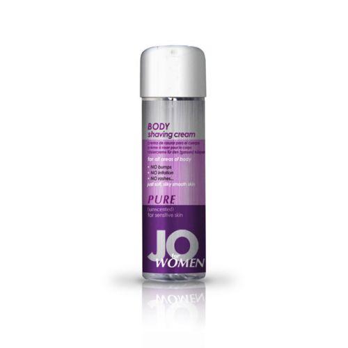 Krem do golenia dla kobiet - System JO Women Shaving Cream Unscented 240 ml Bezwonny