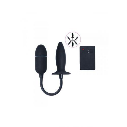 Plug/vibr-ON/OFF REMOTE CONTROL BENDABLE VIBE