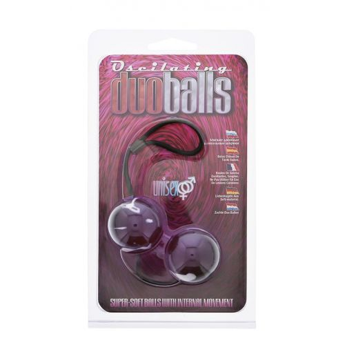 Kulki-MARBILIZED DUO BALLS - LAVENDER