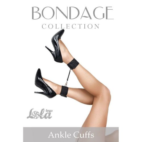 Wiązania-Bondage Collection Ankle Cuffs One Size
