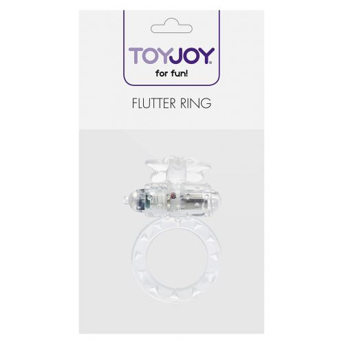 Pierścień-FLUTTER-RING VIBRATING RING CLEAR