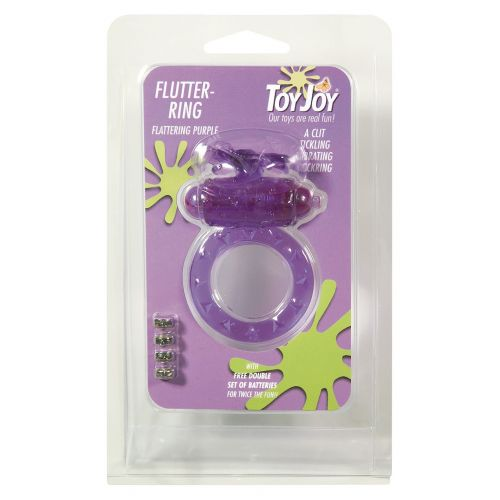 Pierścień-FLUTTER-RING VIBRATING RING PURPLE