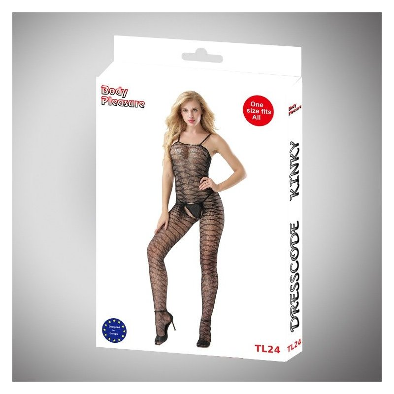 Body Pleasure - Sexy Lingerie Set - one size - black TL24