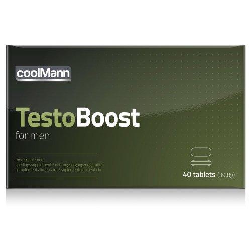 Supl. diety- CoolMannTestoboost (40 tab)
