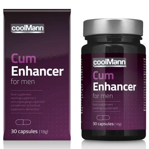 Supl. diety- CoolMann Cum Enhancer (30 caps)