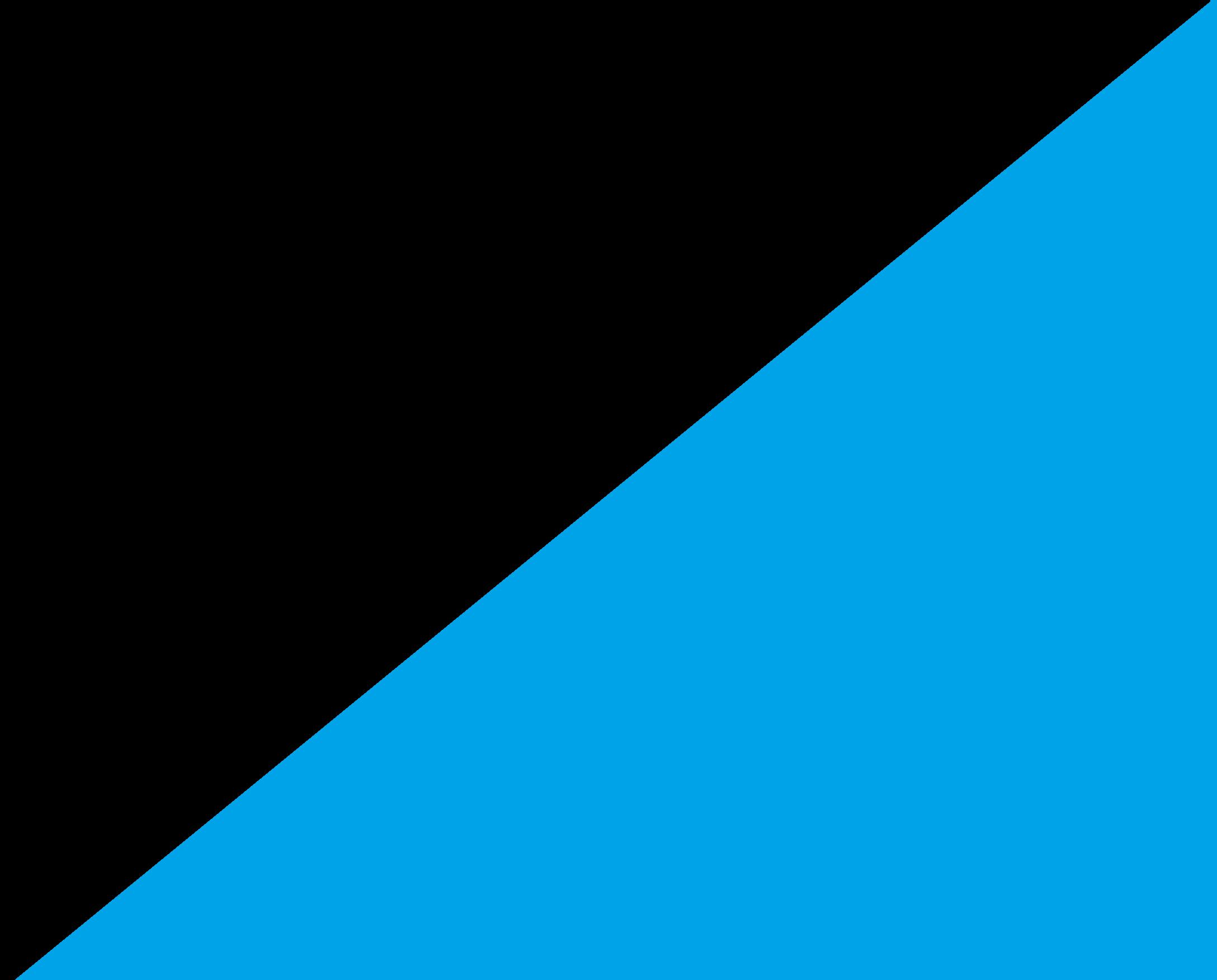 Czarno/turkusowy